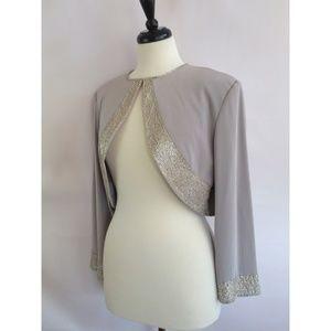 Montage by Mon Cheri Size 14 Embellished  Blazer